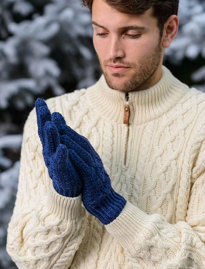 Adult Aran Gloves