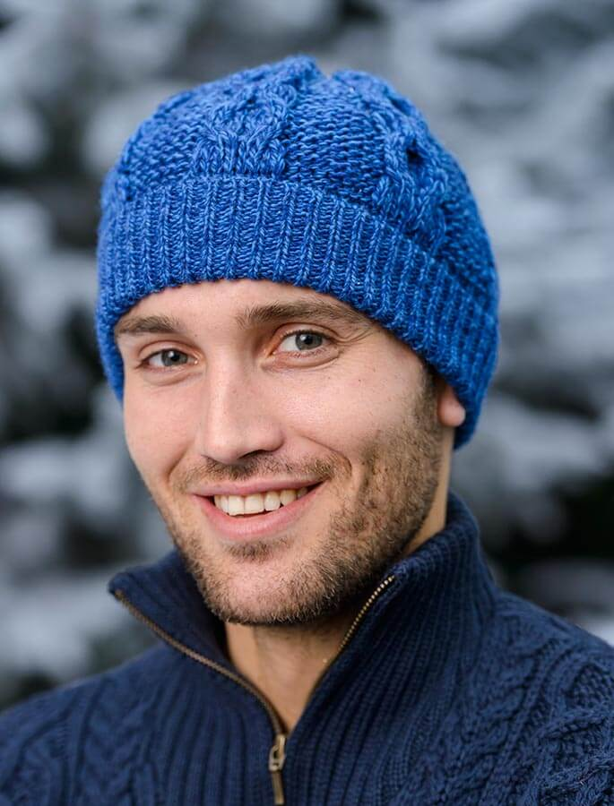 Merino Honeycomb Hat