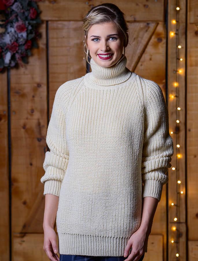 Ladies sweaters, cable knit, cardigan, Irish knitwear | Aran ...